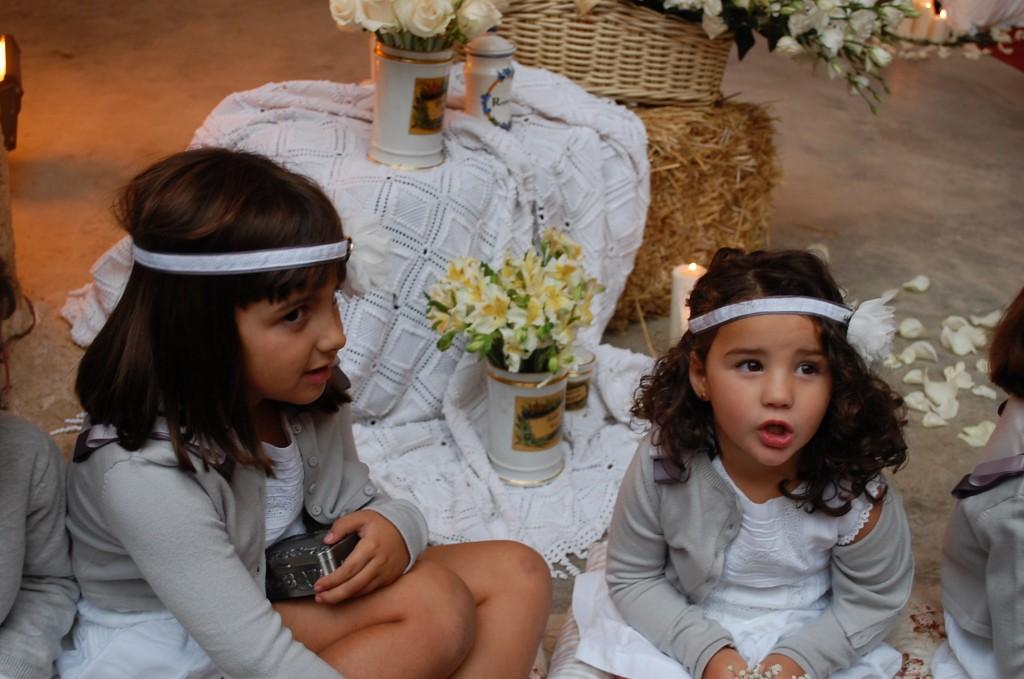 Mis dos hijas en 2012