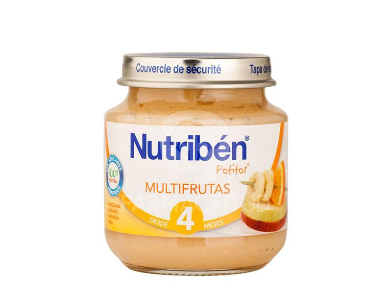 nutribén potito de inicio multifrutas