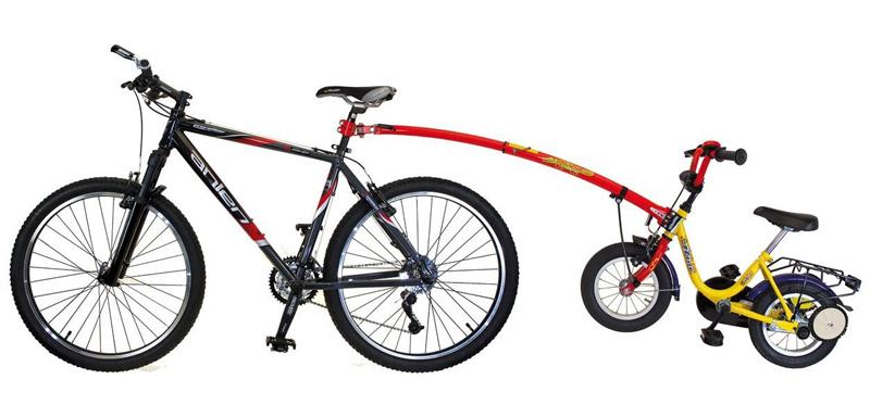trailgator para bicicletas