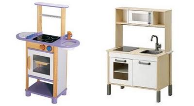Cocinas de madera para los ni os mamis y beb s - Cocinita de madera segunda mano ...