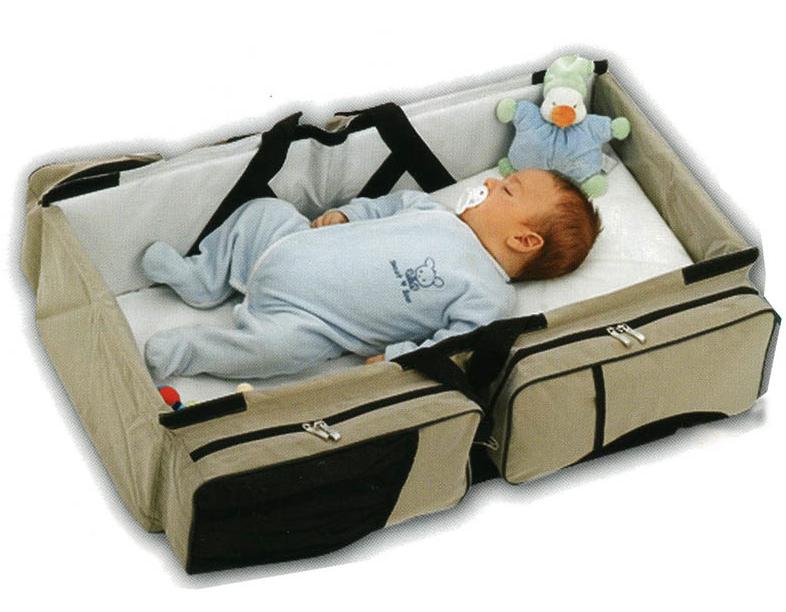 Babytravel bolso maternal convertible