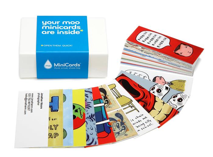 moo minicards