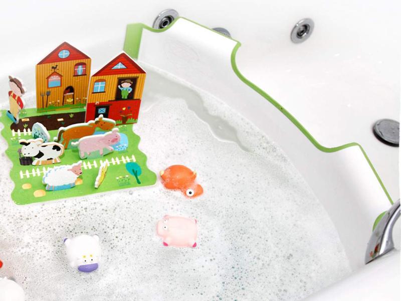 El reductor de bañera Babydan, un invento para gastar menos agua