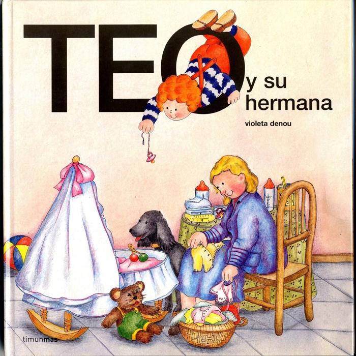 Teo y su hermana, libro