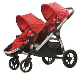 BabyJogger-CitySelect-Plus Seat-Red