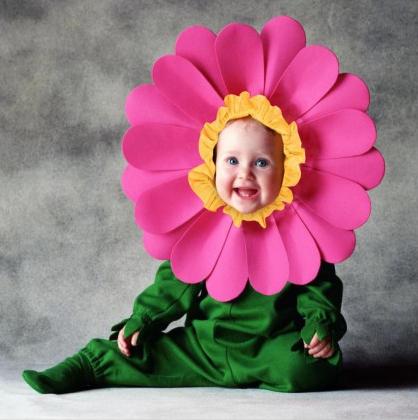 Disfraz de flor Tom Arma