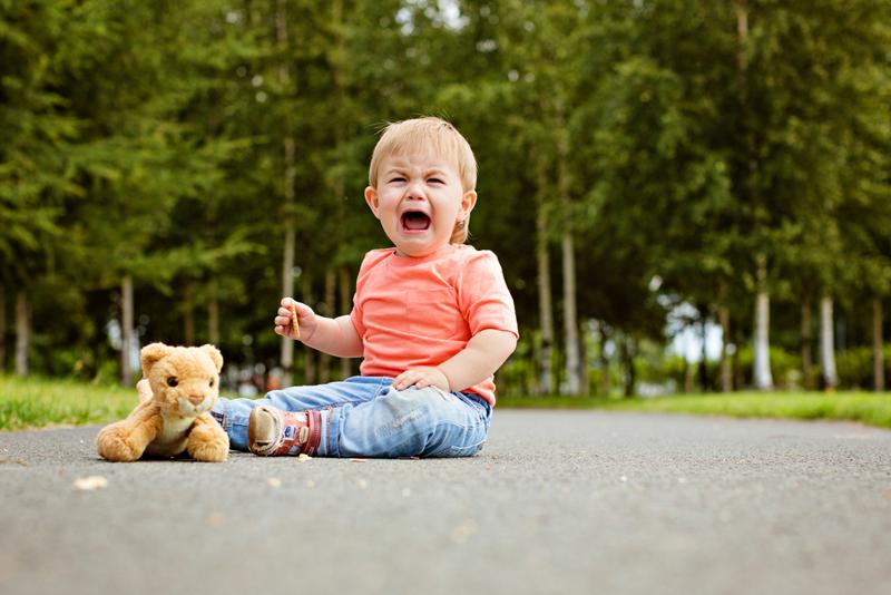 bebé llorando. Bebés de alta demanda