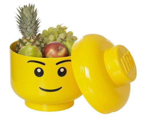 Lego cabeza almacenaje