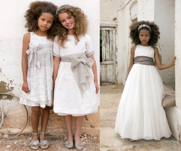 rubio kids Vestidos de comunión diferentes