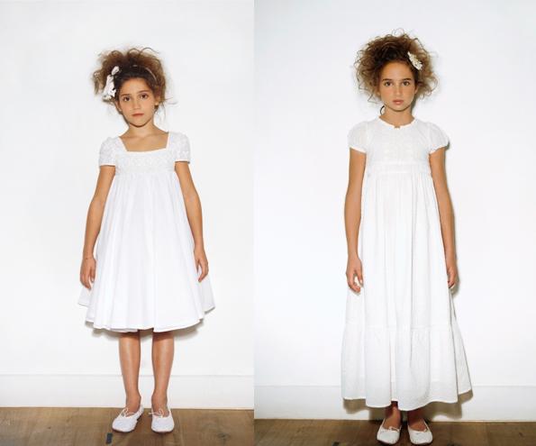 smallwhite Vestidos de comunión diferentes