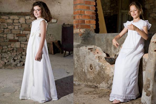 teresa palazuelo Vestidos de comunión diferentes