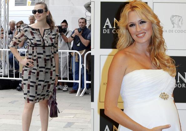 Leonor y Carolina embarazadas