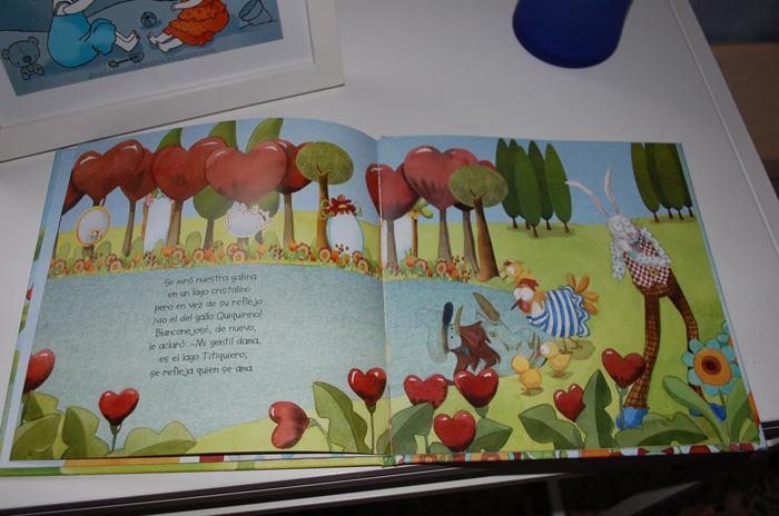 Libro Cocorina en el jardín de los espejos interior