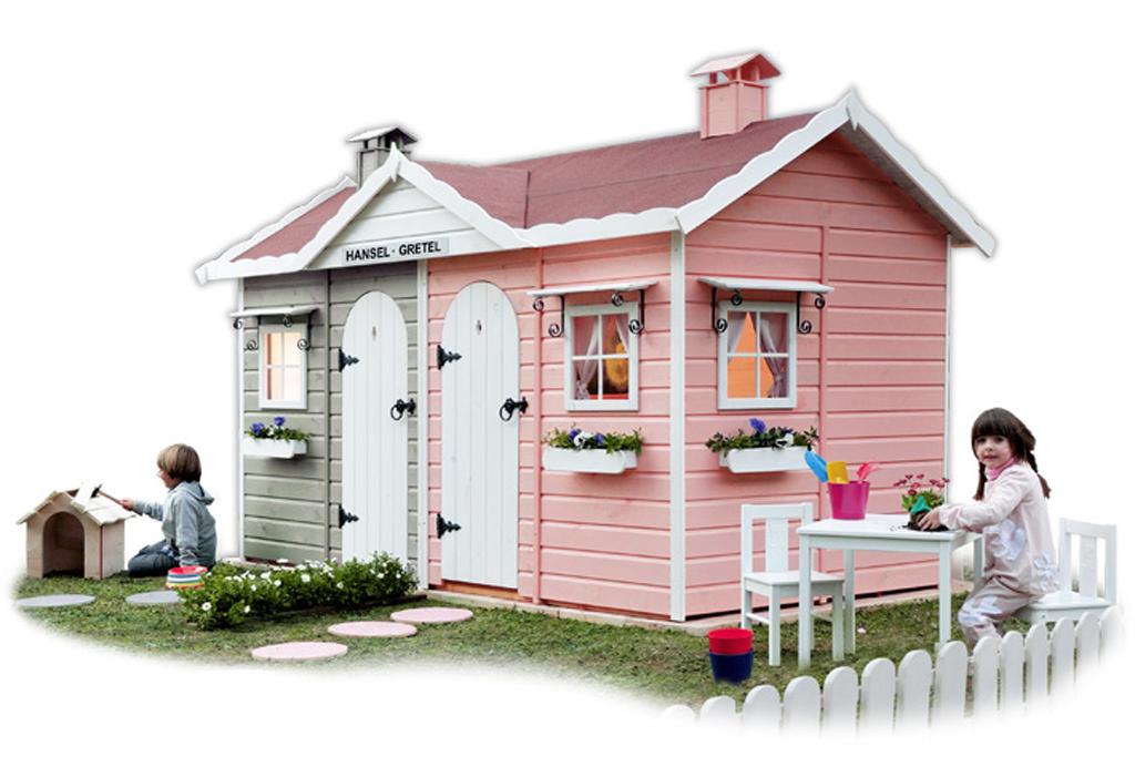 Casitas para jugar de greenhouse mamis y beb s for Casas madera infantiles para jardin