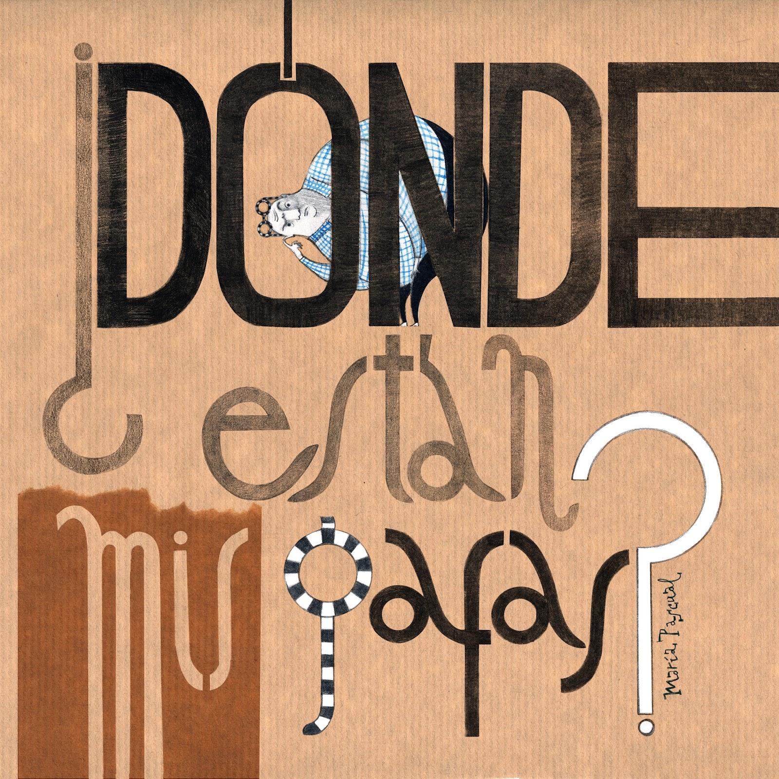 MariaPascual_Cover_DondeEstanMisGafas