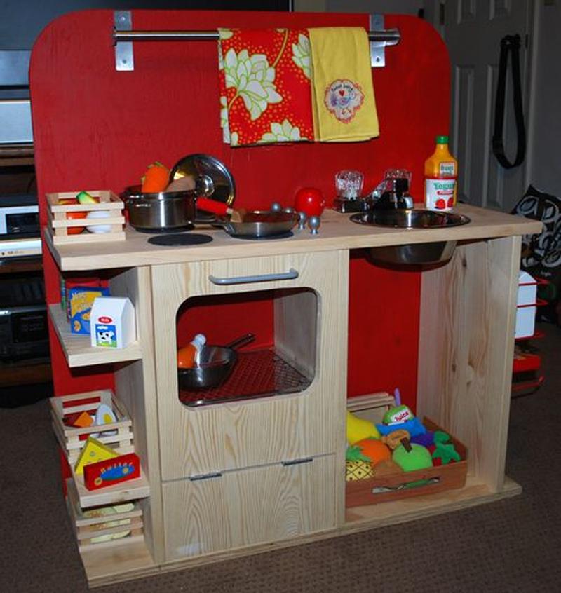 DIY - Cocinas infantiles - Mamis y bebés