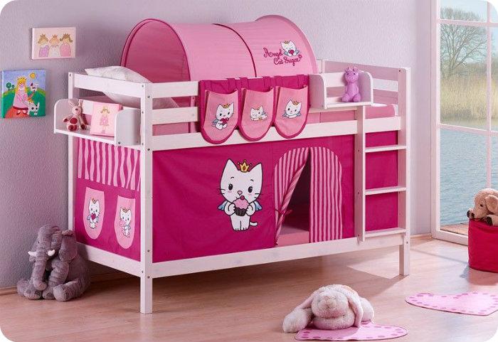Caballeros y princesas camas sorprendentes - Cama de princesa para nina ...