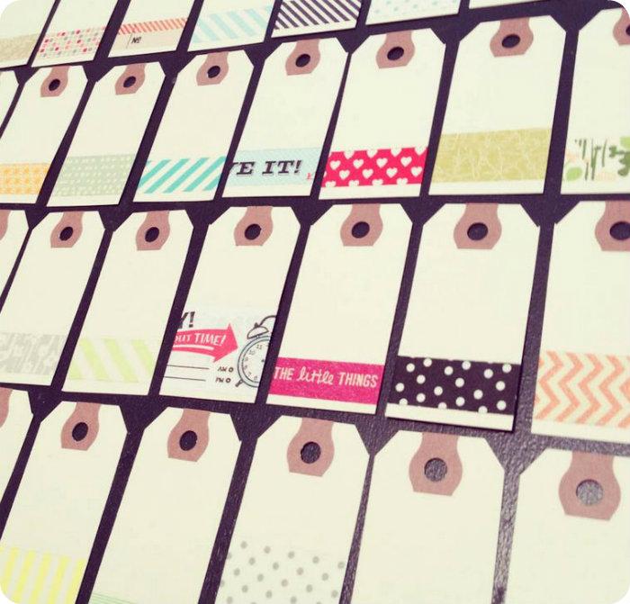 washi tape 4 La moda del Washi Tape (I)