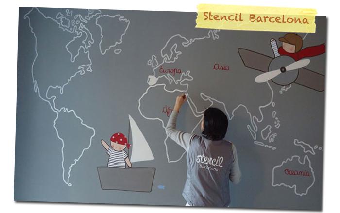 L minas de nacimiento mamis y beb s - Stencil barcelona ...