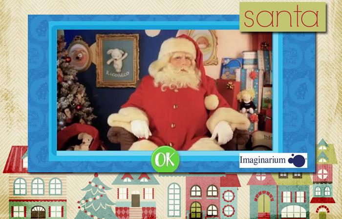 Santa claus imaginarium