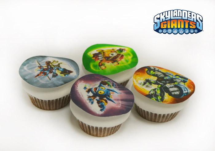 Cupcakes Skylanders