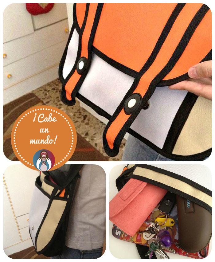 3D Comic Bag