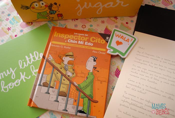 Libros infantiles - My Little Book Box julio 03