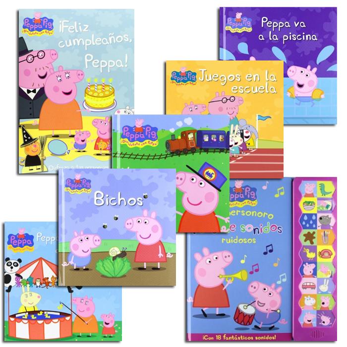 Libros infantiles - Peppa Pig