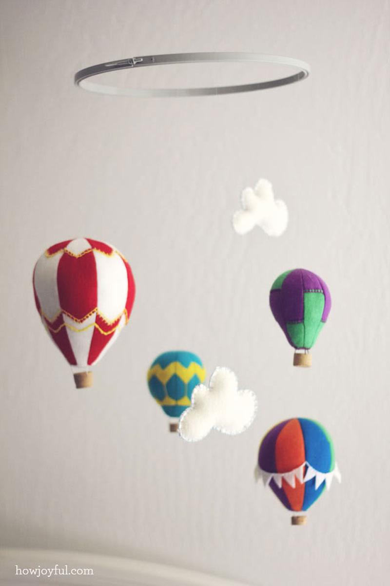 Movil globos aerostáticos