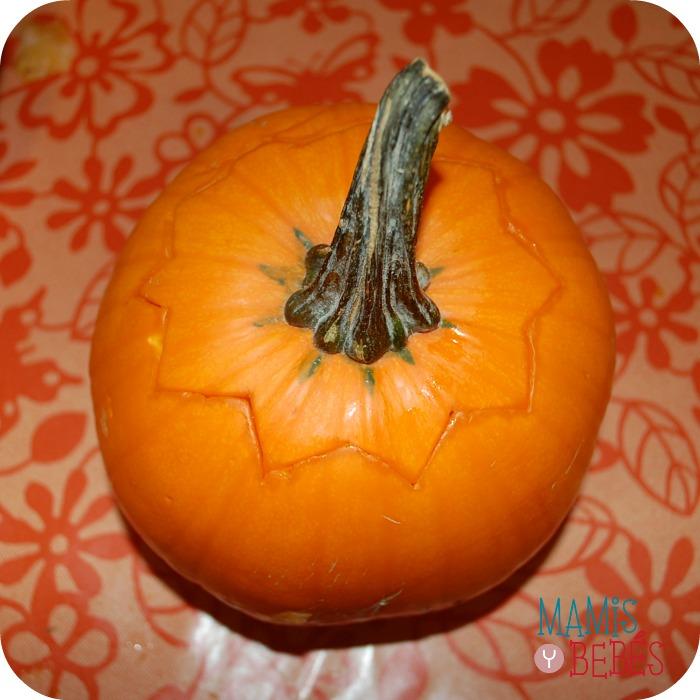 Como hacer calabaza de Halloween 02
