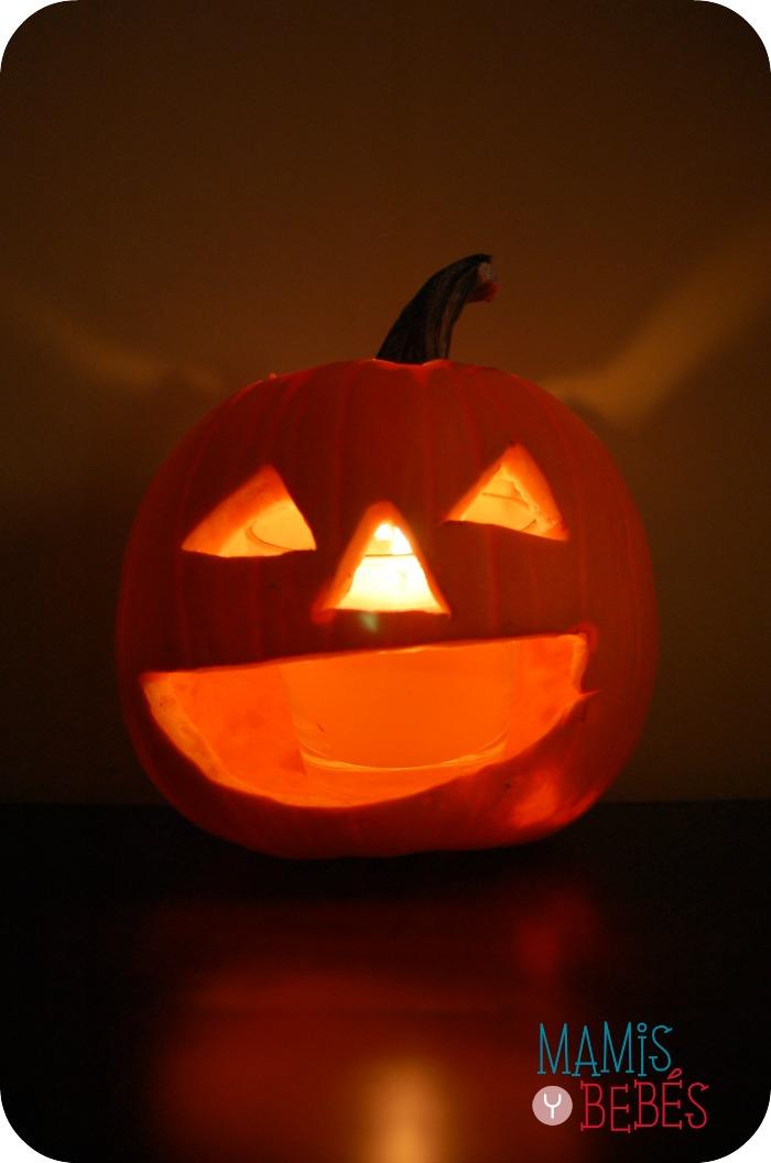 Como hacer calabaza de Halloween 06