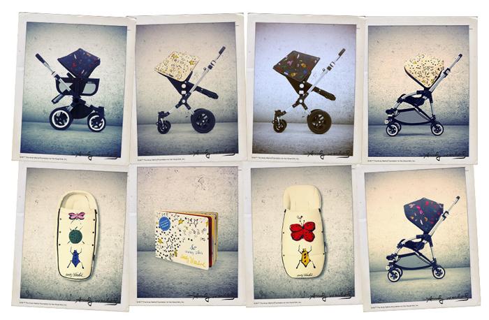Elegir carrito - Bugaboo Warhol 01