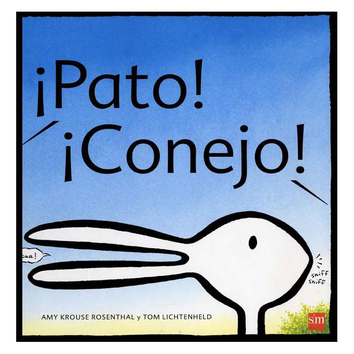 My little book box - pato conejo