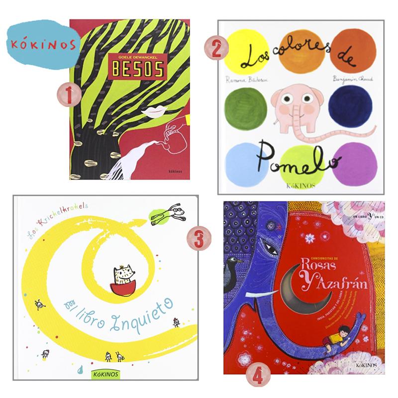 Libros infantiles kokinos