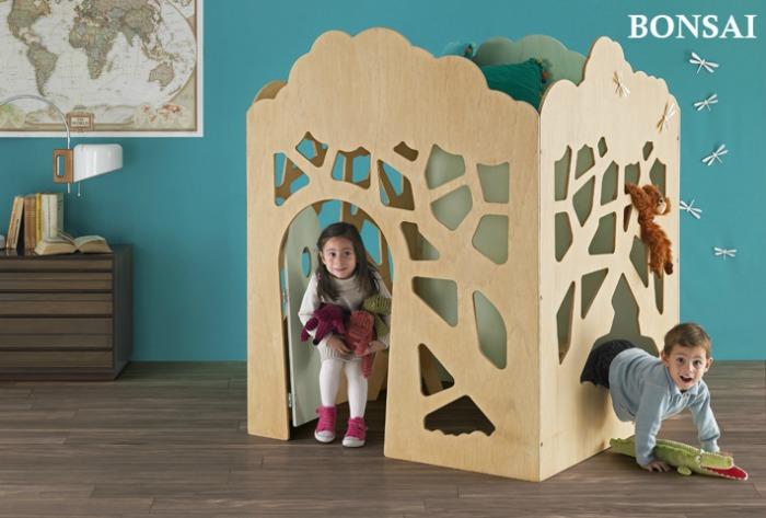 Casitas de madera interior Greenhouse 01