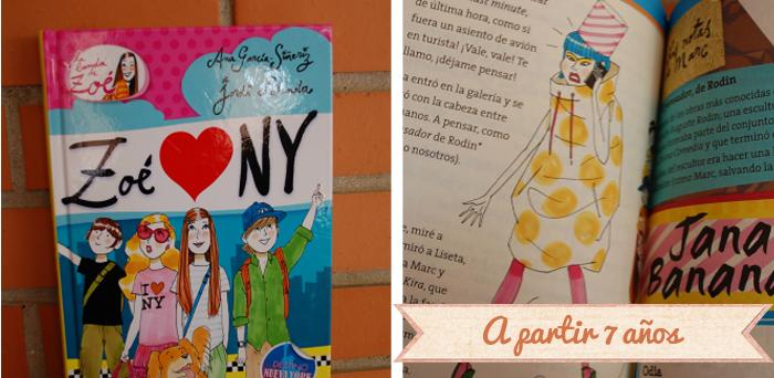 Libros infantiles - Zoe loves NY