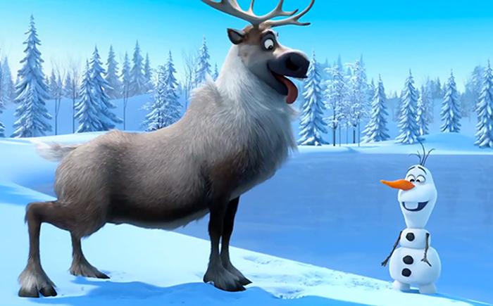Frozen Olaf y Sven
