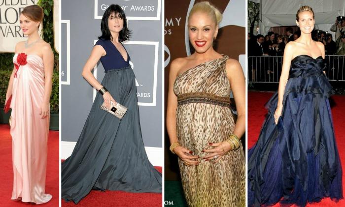 Actrices embarazadas alfombra roja 02