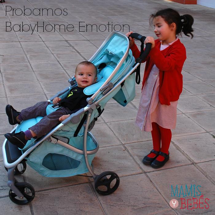 Babyhome Emotion Prueba de producto