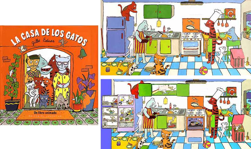 la casa de los gatos Gilles Eduar