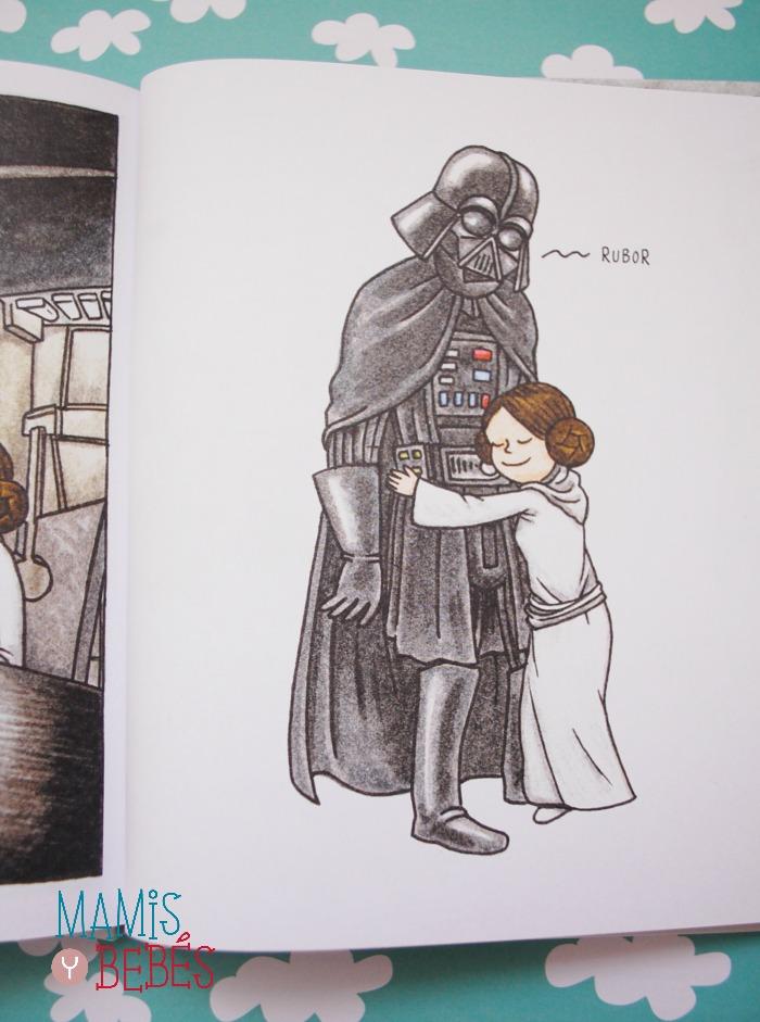 LIbros infantiles - Darth Vader y su princesita 03