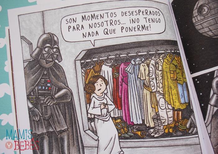 Libros infantiles - Darth Vader y su princesita 02