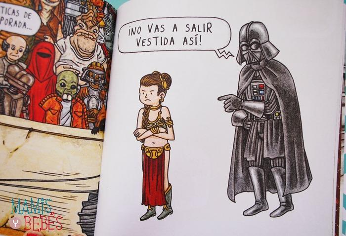 Libros infantiles - Darth Vader y su princesita 04