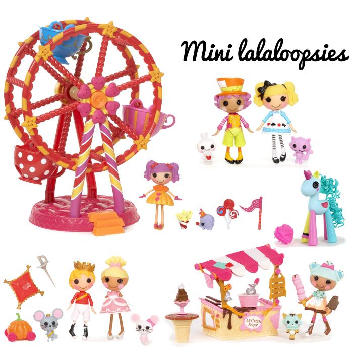 Mini lalaloopsies