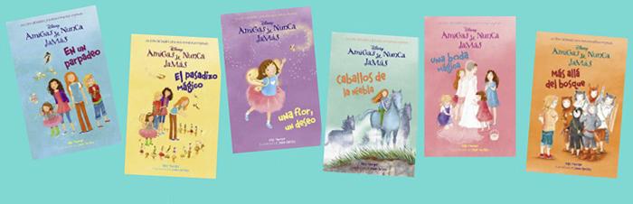 libros infantiles amigas de nunca jamas