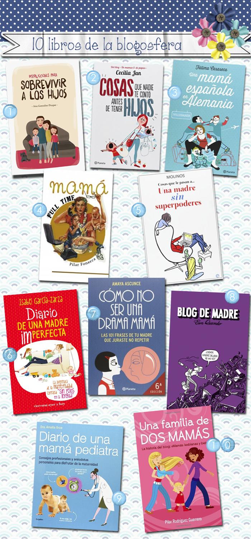 10 libros blogosfera maternal