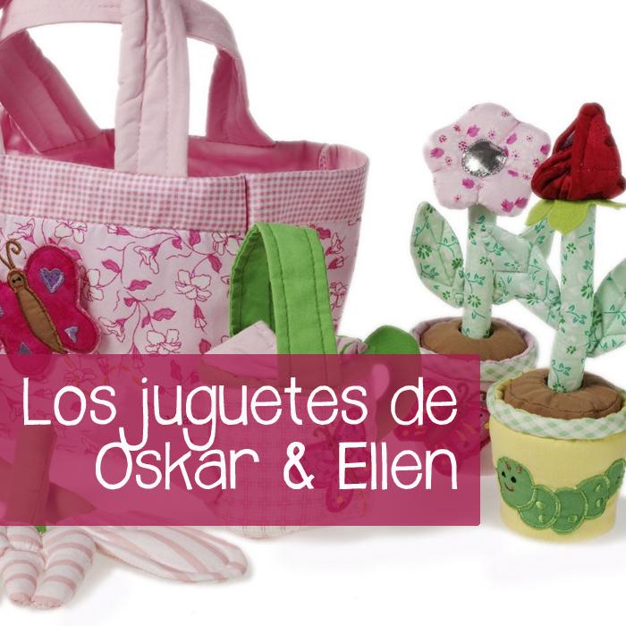 Oskar y Ellen juguetes de tela