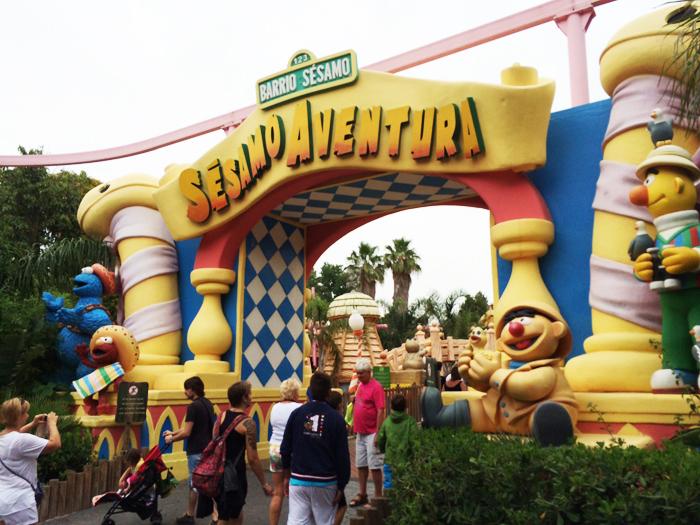 Port-aventura entrada Sesamo aventura