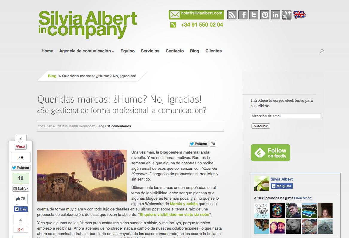Agencia Silvia Albert