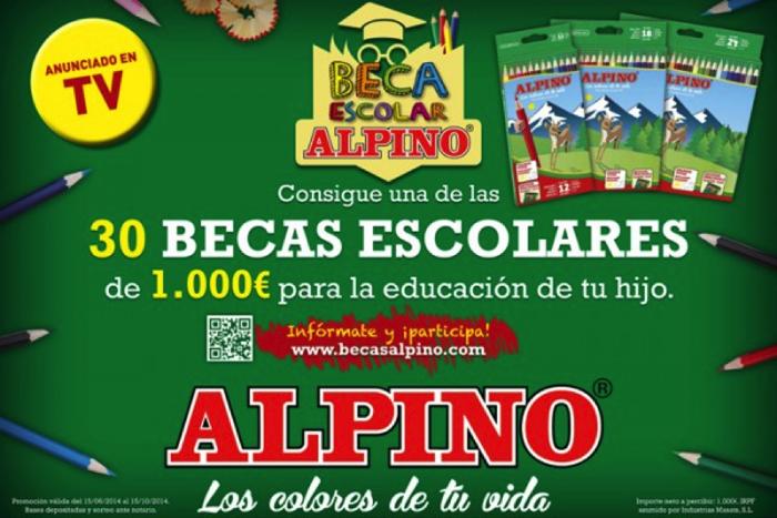 Becas escolares Alpino